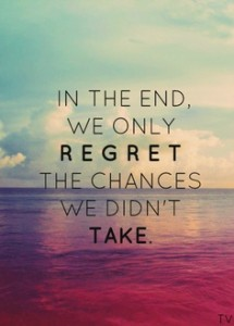 Wisdom Wednesday: Taking chances