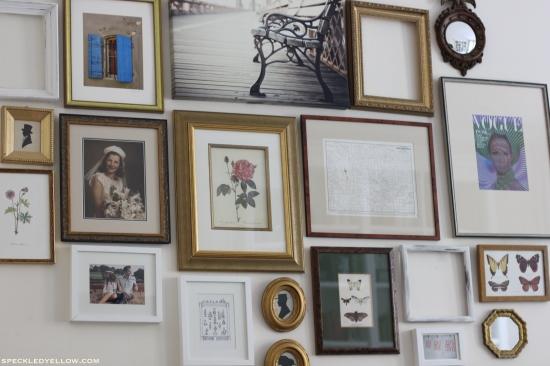 Wall Art Gallery speckledyellow.com