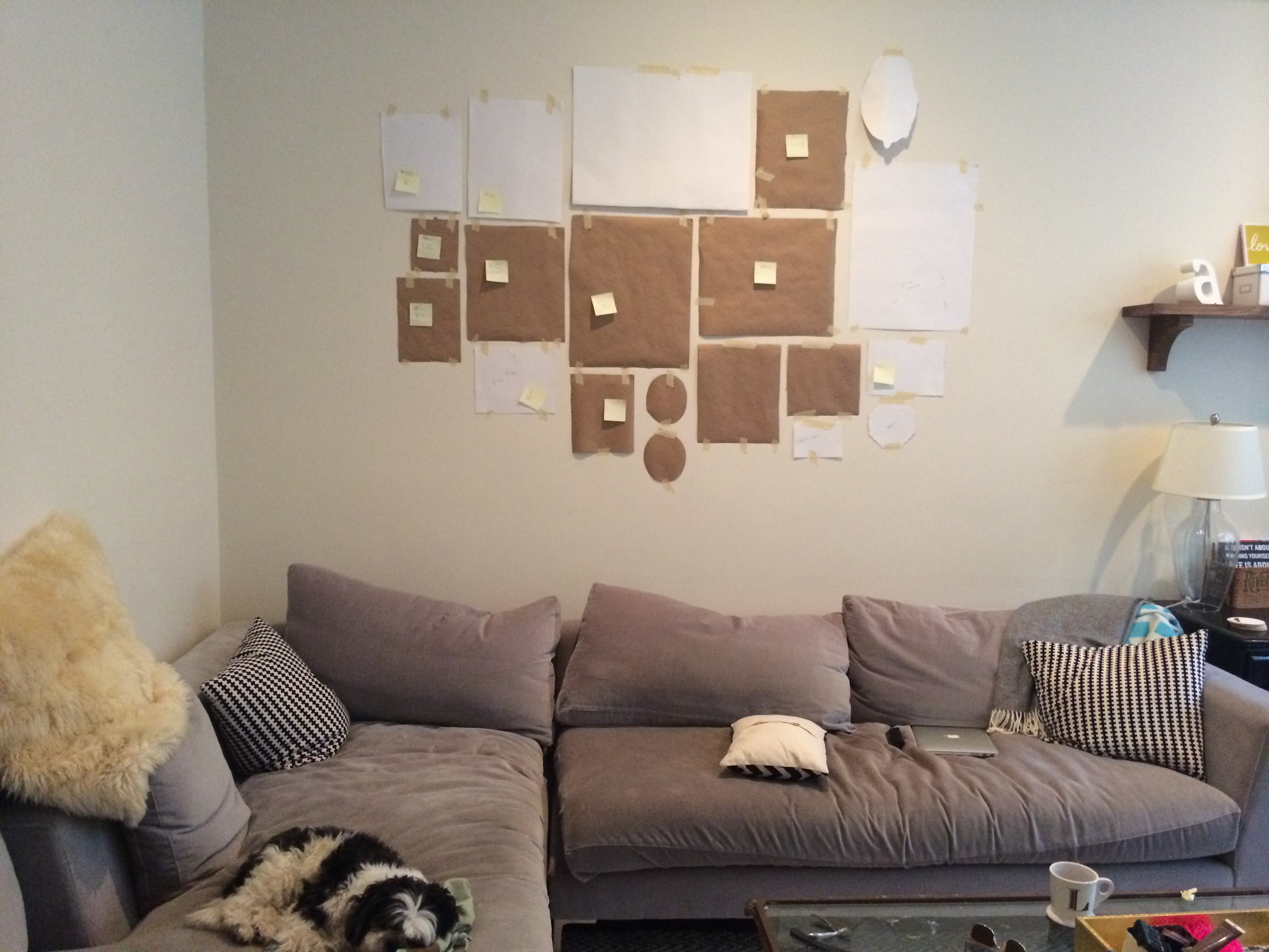 How To Hang Wall Art how to hang art « speckled yellow