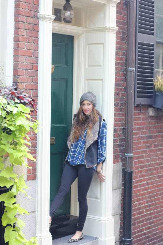 Cozy Layers and Cashmere in Beacon Hill/speckledyellow.com