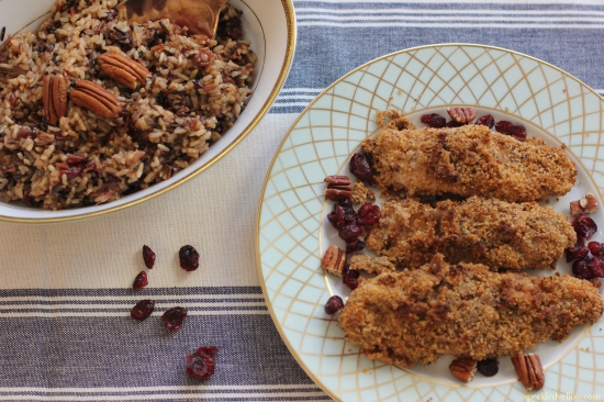 Oven Baked Pecan-Crusted Dijon Chicken